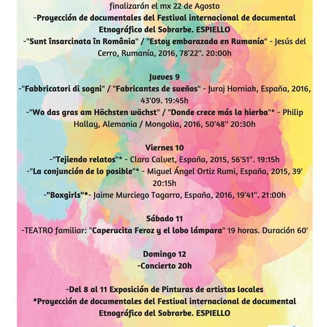 Semana cultural en el museo etnográfico de Castanesa